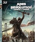 Apes Revolution - Il pianeta delle scimmie (Blu-Ray 3D + Blu-Ray Disc)