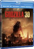 Godzilla (2014) (Blu-Ray 3D + Blu-Ray Disc) (2 dischi)