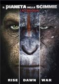 Il Pianeta delle Scimmie - La Trilogia (DVD)
