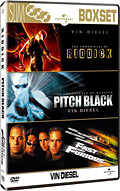 Vin Diesel Slim Box Set (Pitch Black, The Chronicles of Riddick, Fast and Furious, 3 DVD)