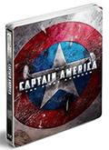 Captain America - Limited Steelbook (Blu-Ray + DVD)