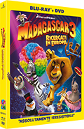 Madagascar 3 - Ricercati in Europa (Blu-Ray Disc + DVD)