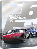 Fast & Furious 6 - Limited Steelbook Edition (Blu-Ray Disc)