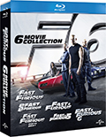 Fast & Furious Collection (6 Blu-Ray Disc)