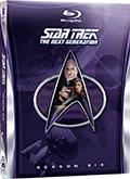 Star Trek - The Next Generation - Stagione 6 (6 Blu-Ray Disc)