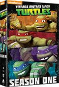 Teenage Mutant Ninja Turtles (2012) - Stagione 1 (4 DVD)