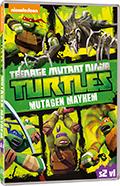 Teenage Mutant Ninja Turtles (2012) - Stagione 2 vol.1: Il caos dei mutanti