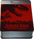 Jurassic Park Ultimate Trilogy Limited Steelbook (3 Blu-Ray Disc) (Import, Audio Italiano)