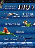 Cofanetto Natura (La marcia dei pinguini, Il popolo migratore, Profondo Blu, Genesis, Microcosmos)