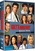 Grey's Anatomy - Stagione 3 (Amaray) (7 DVD)
