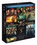 I Pirati dei Caraibi - The Complete Collection (5 Blu-Ray Disc)