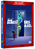 Monsters & Co. (Blu-Ray 3D + Blu-Ray)