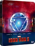Iron Man 3 - Limited Edition (Steelbook, Blu-Ray + Blu-Ray 3D)