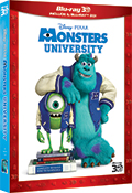 Monsters University (2 Blu-Ray + Blu-Ray 3D)
