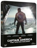 Captain America: The Winter Soldier - Limited Steelbook (Blu-Ray + DVD)