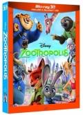 Zootropolis (Blu-Ray 3D + Blu-Ray Disc)
