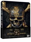 I Pirati dei Caraibi - La vendetta di Salazar - Limited Steelbook (Blu-Ray 3D + Blu-Ray Disc)