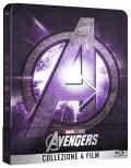 Avengers - 4 Film Collection - Limited Steelbook (4 Blu-Ray + Bonus Disc)