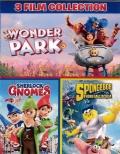 Cofanetto: Wonder Park + Sherlock Gnomes + SpongeBob - Fuori dall'acqua