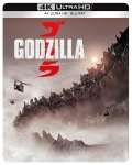 Godzilla (2014) - Limited Steelbook (Blu-Ray 4K UHD + Blu-Ray Disc)