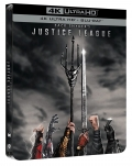 Zack Snyder's Justice League - Limited Steelbook (2 Blu-Ray 4K UHD + 2 Blu-Ray Disc)
