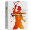 Indiana Jones - 4 Movie Collection - Limited Steelbook (4 Blu-Ray 4K UHD + 4 Blu-Ray + Bonus Disc)