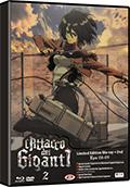 L'attacco dei giganti - Stagione 1, Vol. 2 - Limited Edition (Blu-Ray Disc + DVD)