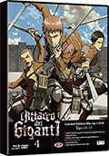 L'attacco dei giganti - Stagione 1, Vol. 4 - Limited Edition (Blu-Ray Disc + DVD)