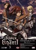 L'attacco dei giganti - Stagione 1, Vol. 5 - Limited Edition (Blu-Ray + DVD)