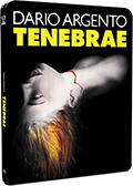 Tenebre - Steelbook Limited Edition (Blu-Ray Disc + DVD) (Import UK, Audio Italiano)