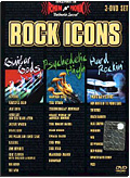 Rock Icons - Guitar Gods, Psychedelic High, Hard Rockin' (3 DVD)