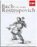 Johann Sebastian Bach - Cello Suites: Rostropovich (2 DVD)