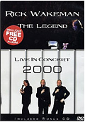 Rick Wakeman - Legend Live in Concert 2000 (DVD + CD)