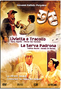 Giovanni Battista Pergolesi - Livietta e Tracollo / La Serva Padrona (1996)