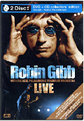 Robin Gibb with The Frankfurt Neue Philharmonic Orchestra - Live (DVD + CD)