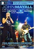 John Mayall & The Bluesbreakers - 70th Birthday Concert (DVD + CD)