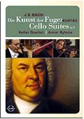 Johann Sebastian Bach - L'Arte della Fuga (Die Kunst der Fuge): Suite n. 1 & 5 per violoncello