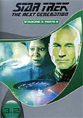 Star Trek, The Next Generation - Stagione 3.2 (4 DVD)