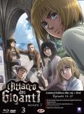 L'attacco dei giganti - Stagione 2, Vol. 3 - Limited Edition (Blu-Ray Disc + DVD)