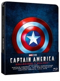 Captain America Trilogy - Limited Steelbook (3 Blu-Ray Disc)