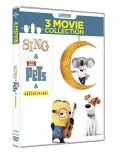 Illumination Collection - Sing + Pets + Minions (3 DVD)