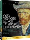 Goya, Van Gogh, Munch: I visionari dell'emozione (3 Blu-Ray)