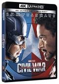 Captain America - Civil War (Blu-Ray 4K UHD + Blu-Ray)