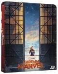 Captain Marvel - Limited Steelbook (Blu-Ray 3D + Blu-Ray)