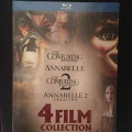 Annabelle + Conjuring - 4 Film Collection (4 Blu-Ray)