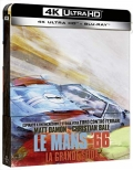 Le Mans 66 - La grande sfida - Limited Steelbook (Blu-Ray 4K UHD + Blu-Ray)