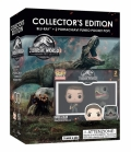 Jurassic World: Il Regno Distrutto - Funko Set (2 Mini Funko + Blu-Ray)