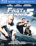 Fast and furious 5 (Blu-Ray + DVD)