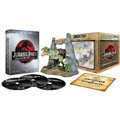 Jurassic Park - Ultimate Trilogy (3 Blu-Ray + Action Figure)