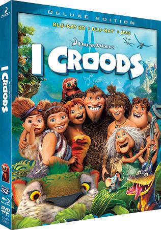 I Croods dalla caverna al Blu-Ray!
